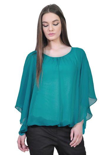 bluza turcoaz de dama D2128C