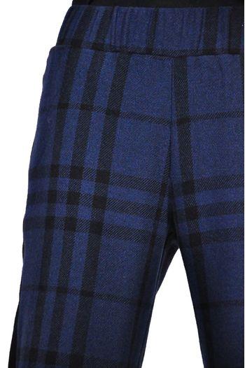 pantalon 3/4 de dama i carouri D2618