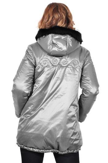 jacheta de dama gri D2619