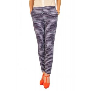 Pantaloni dama RVL Blissful bleumarin