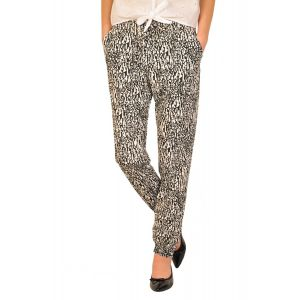 Pantaloni dama RVL Fantasy - alb negru