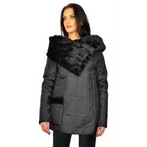 jachete dama Finest Touch negru