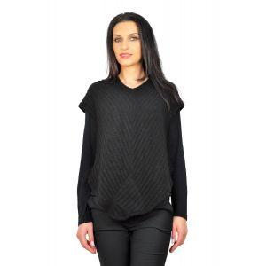 bluze dama D2224 negru