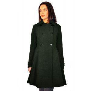 paltoane dama RVL D2239 verde inchis