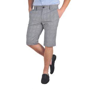 pantaloni barbati 3/4 gri/roz