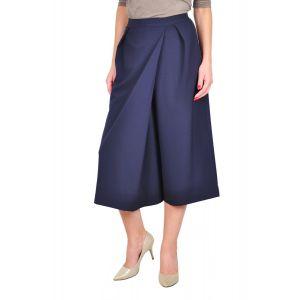 fusta pantalon bleumarin D2416