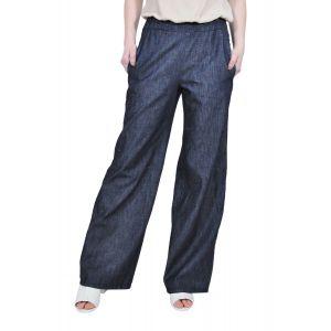 pantalon larg din denim D2516 RVL