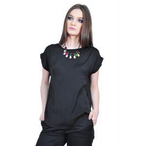 Bluza neagra de dama, RVL D2134B