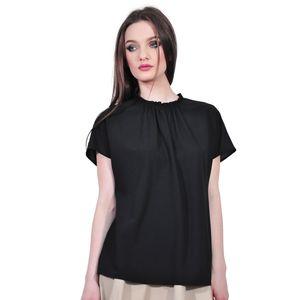 bluza neagra eleganta de dama D2323A