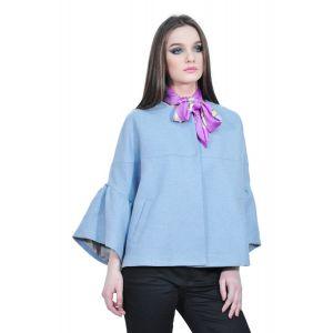 Jacheta bleu eleganta de dama, RVL D2522