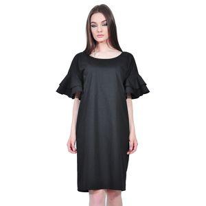 rochie eleganta de dama negru D2552