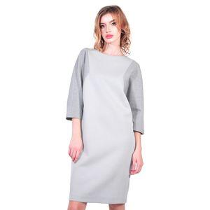 rochie office de dama, gri D2606