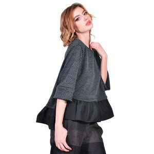 bluza de dama gri, D2615