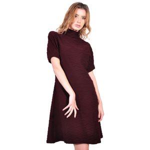 rochie de dama grena romburi D2623