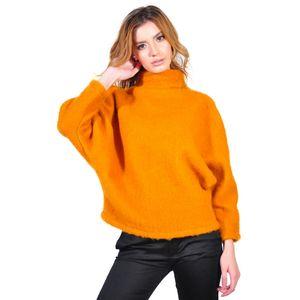 bluza oranj de dama D2628