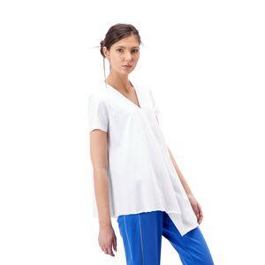 Bluza de dama RVL, alba din tricot