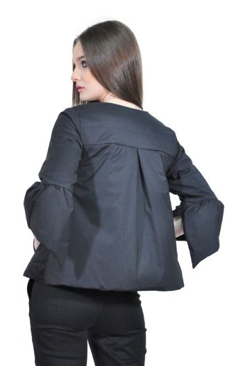 jacheta neagra de dama D2506