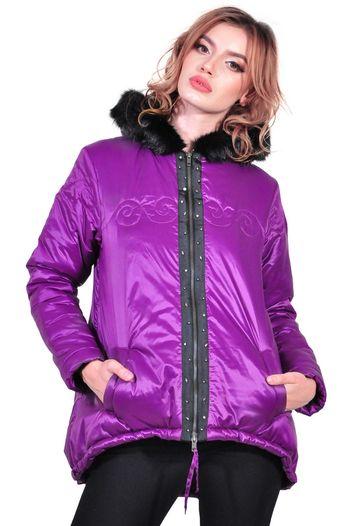 jacheta de dama mov D2619